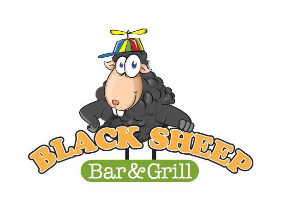 Black Sheep Bar & Grill - black sheep logo